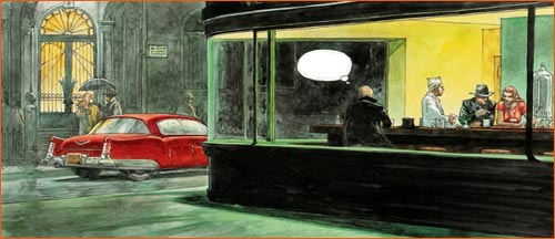 Nighthawks selon Hermann.