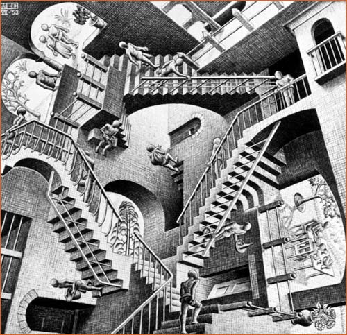 Parlons Art... - Page 3 Relativity_escher
